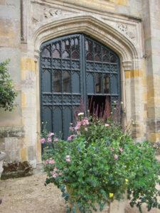 Eingang in das Torhaus von Coughton Court