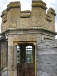 Aussichtsturm von Coughton Court