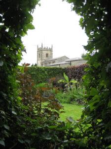 Ladies Garden, im roten Teil, Coughton Court