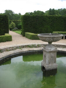 Pool Garden in Coughton Court